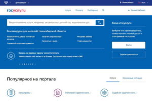 Портал госуслуг в Новосибирске– госпошлины со скидкой 30 и 50%!